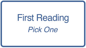 First Reading List - Pick One